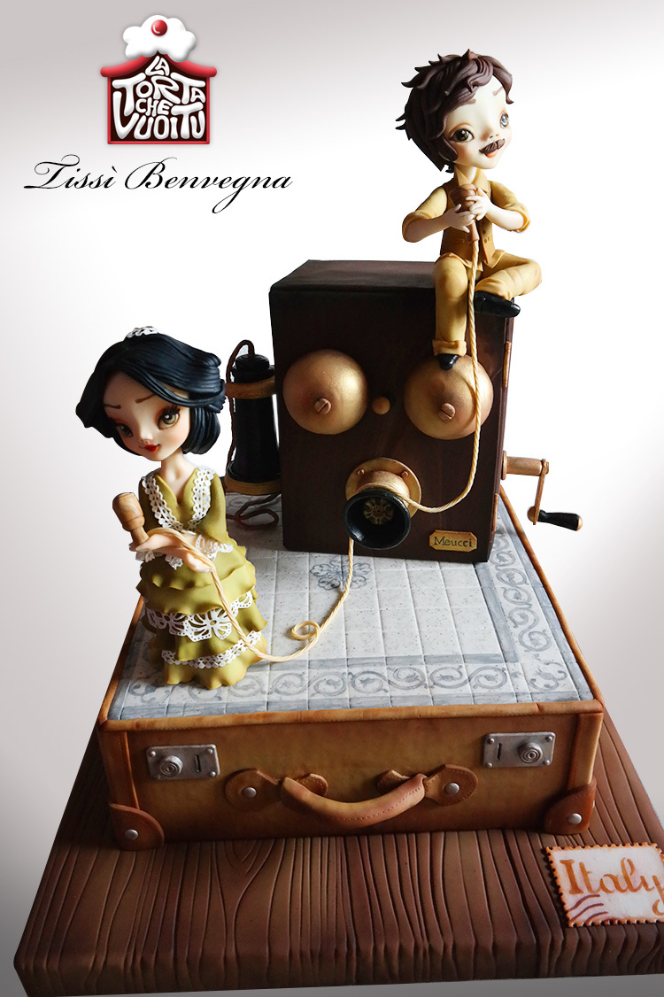 Sculpted Women on suitcase