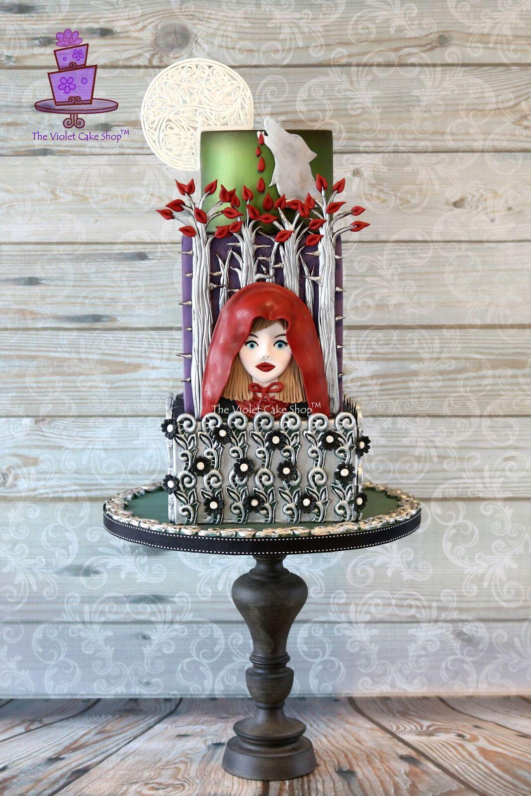 Little Red Riding Hood themed cake