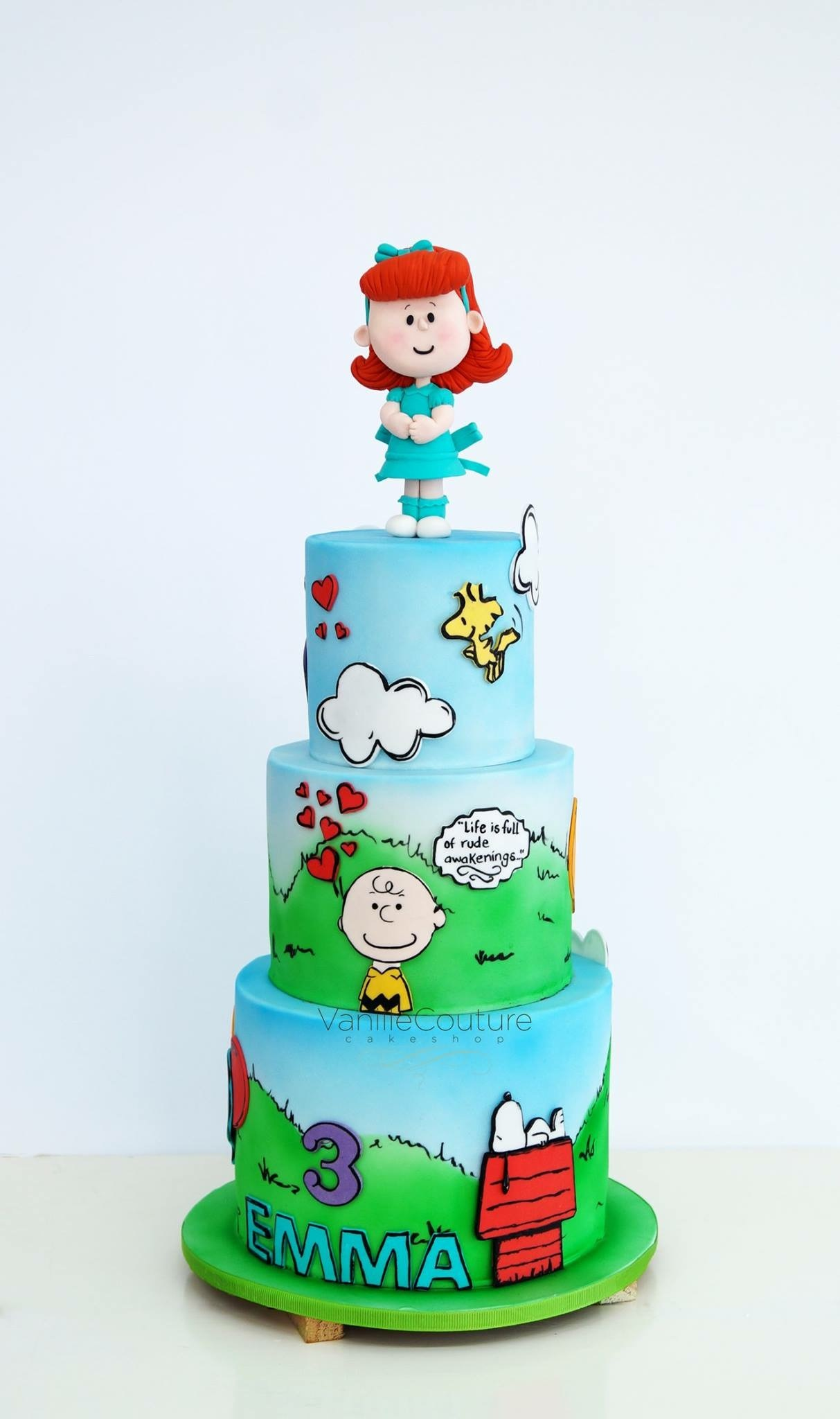 Peanuts Cake