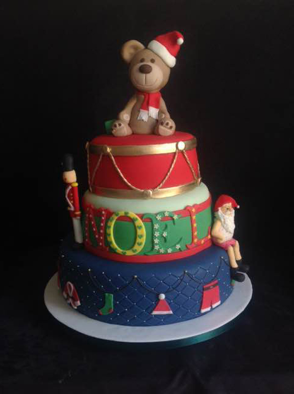 Tiered Christmas Cake