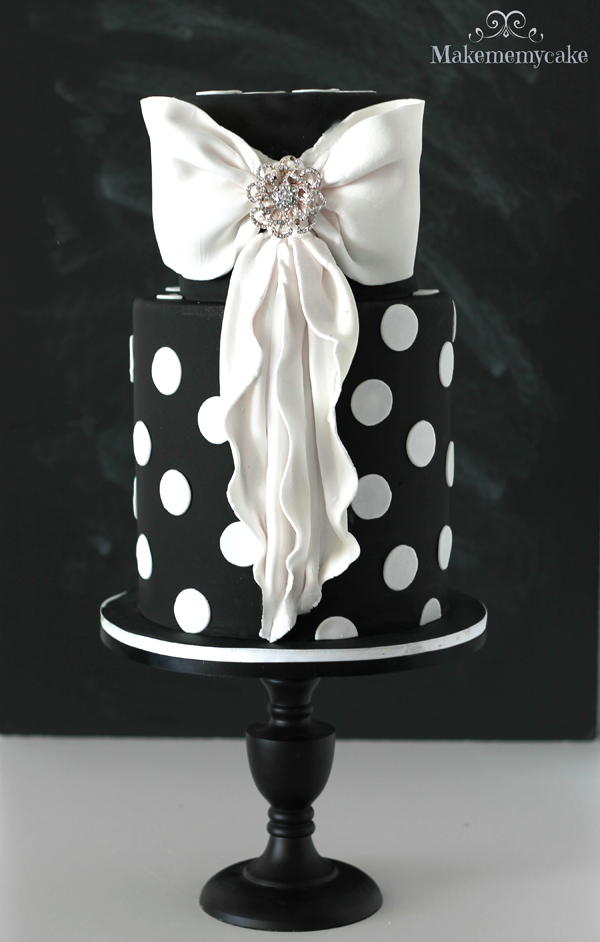 Black and White Polka Dot Wedding