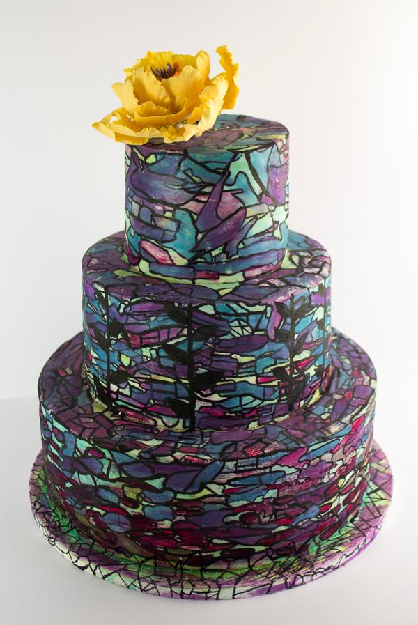 Glass Window Cake