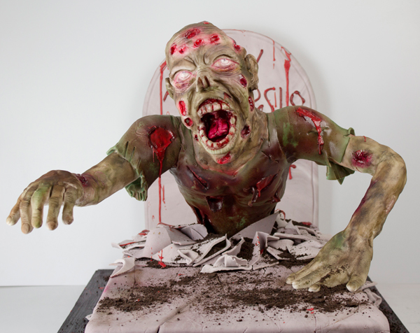 Sculpted Zombie