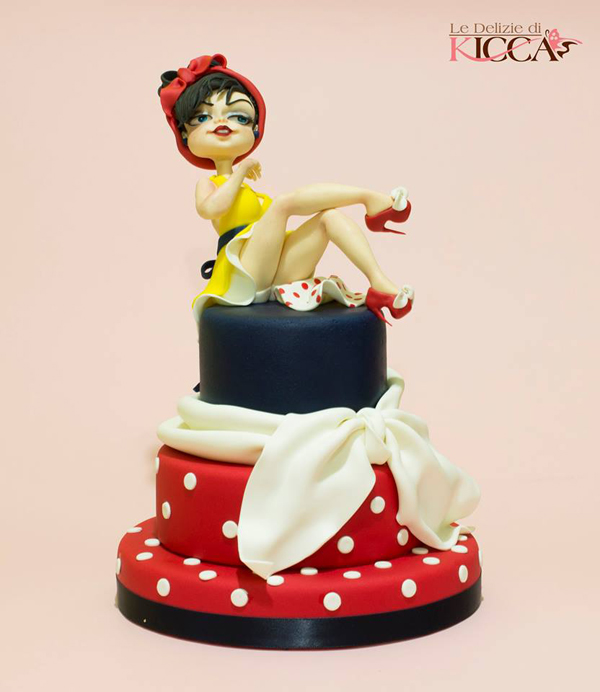 Sculpted Woman Cake