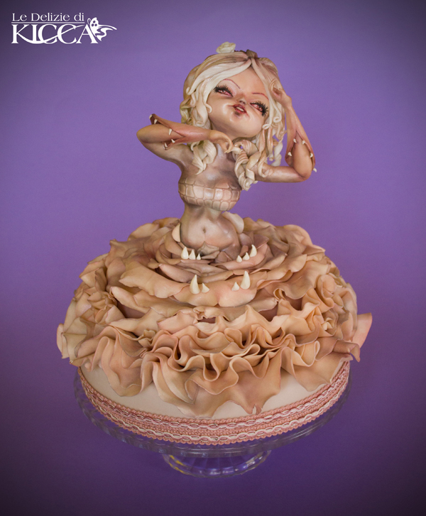 Sculpted Women in Dress