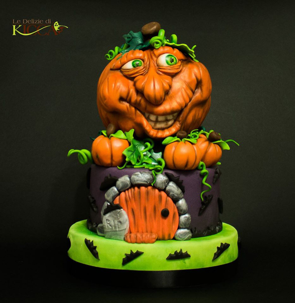 Sculpted Jack O Lantern