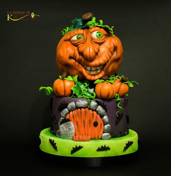 Sculpted Jack O Lantern