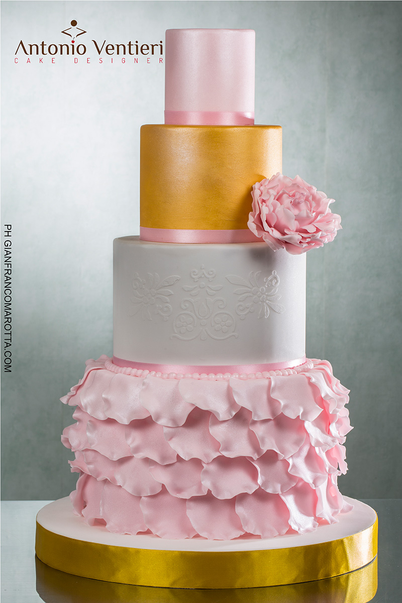 I Antonio Ventieri Cake Designer Wedding Elegant 1