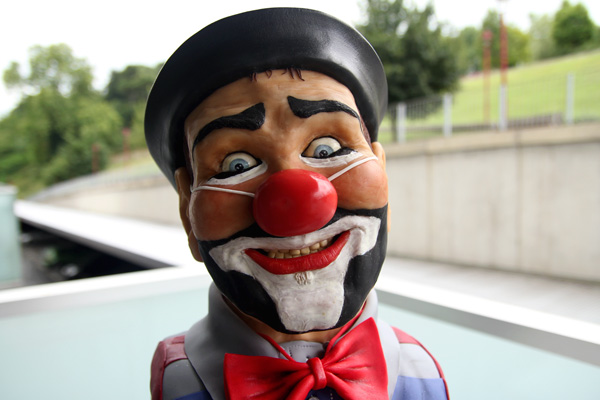 Clown Bust