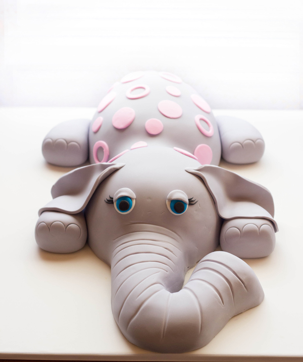 Sculpted Baby Elephant