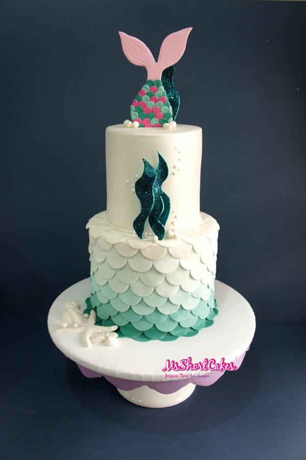 Mermaid Tail Topper