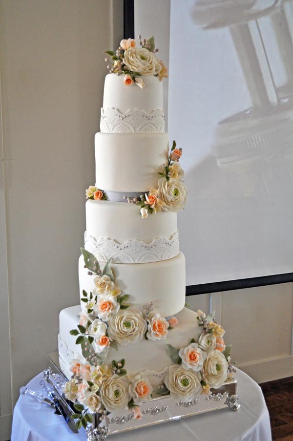 5 tier wedding