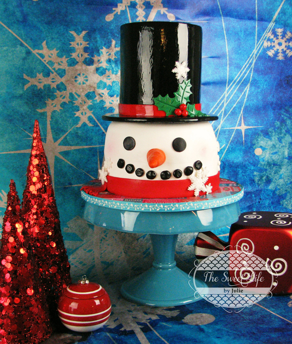 Sculpted Christmas Snowman