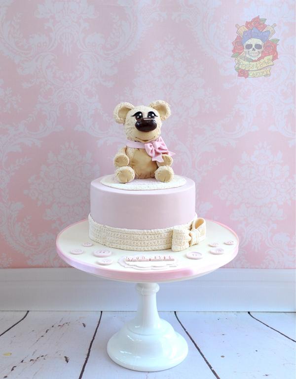 Mini Teddy Bear Topper
