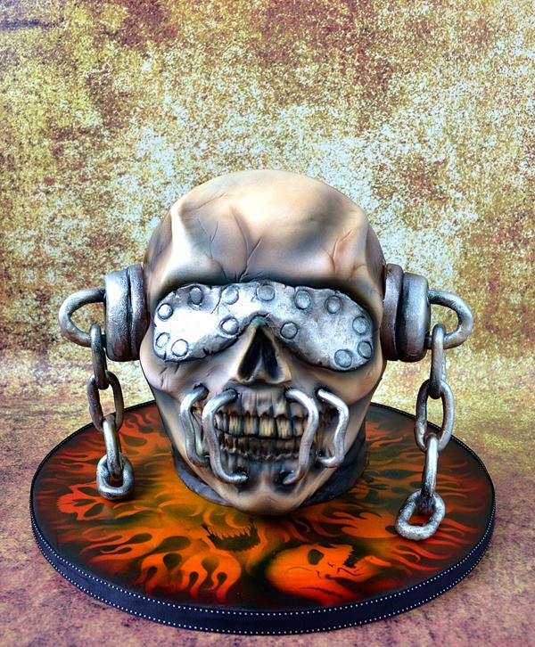 Sculpted Demon Helmet