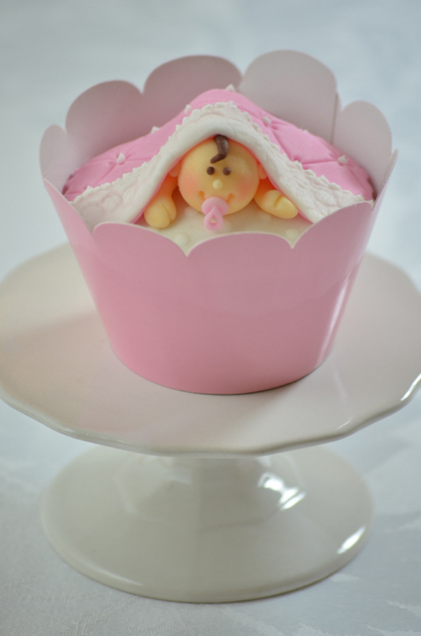 Baby Cupcake Topper