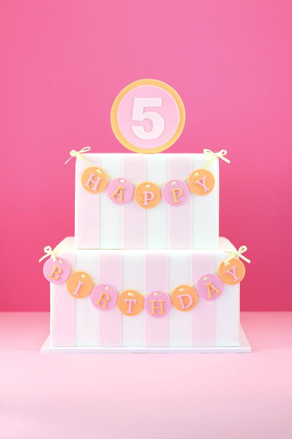 Striped Birthday