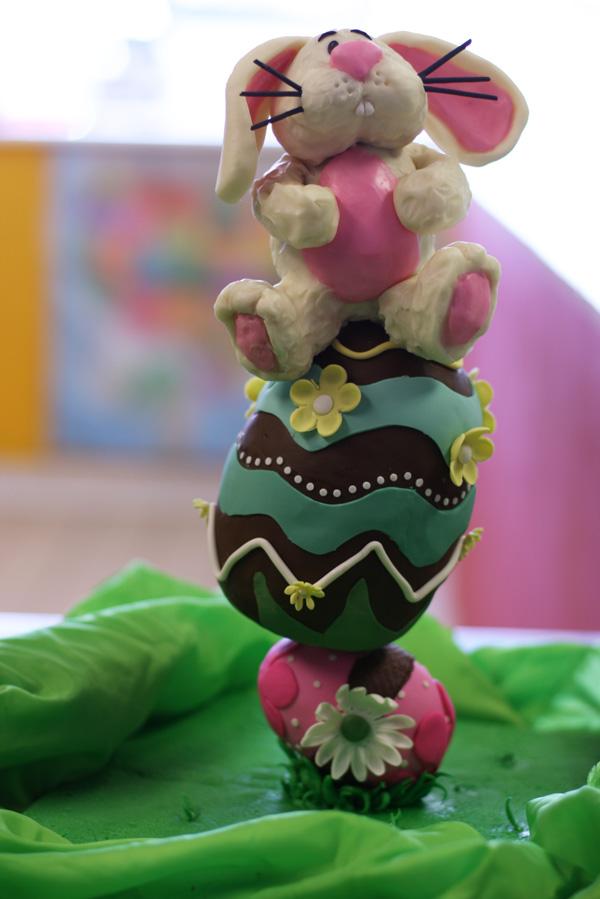 Topsy Turvy Easter Bunny
