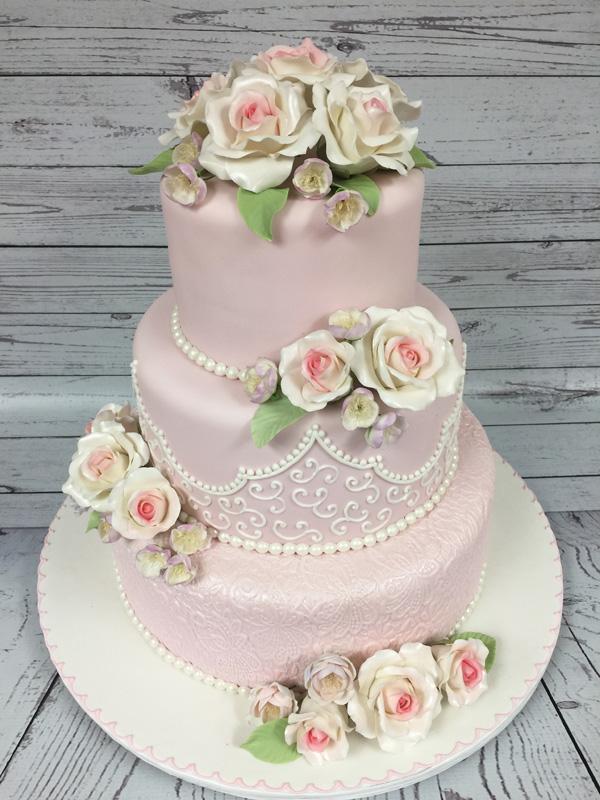 Pink Victorian Wedding