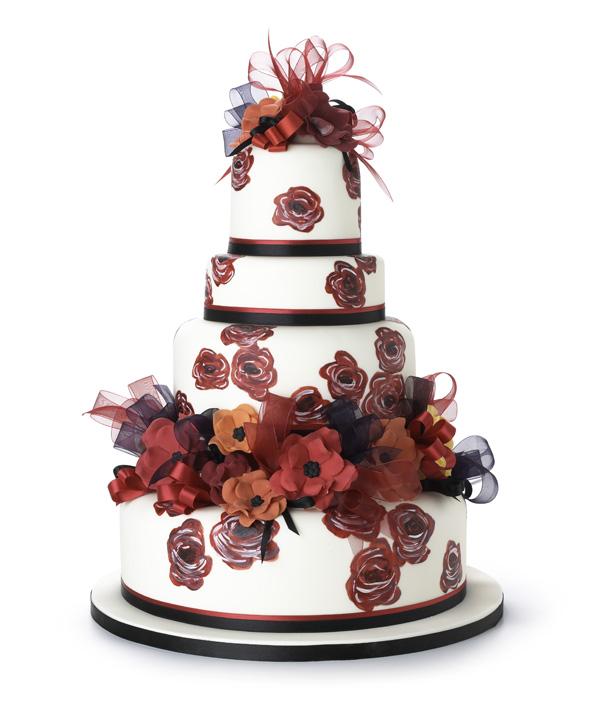 Wafer Paper Flower Wedding