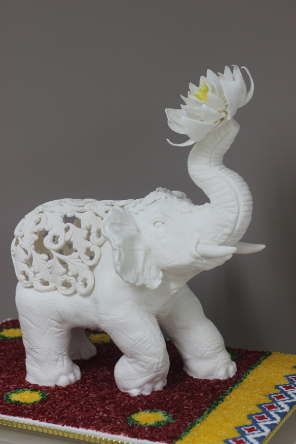 Sculpted Elephant