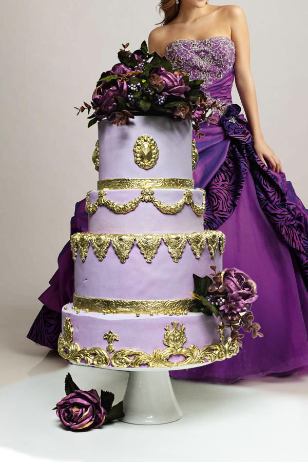 Purple Wedding - Satin Ice