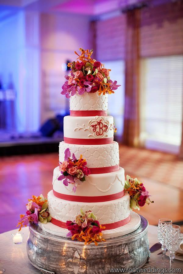 Fuchsia Flower Wedding