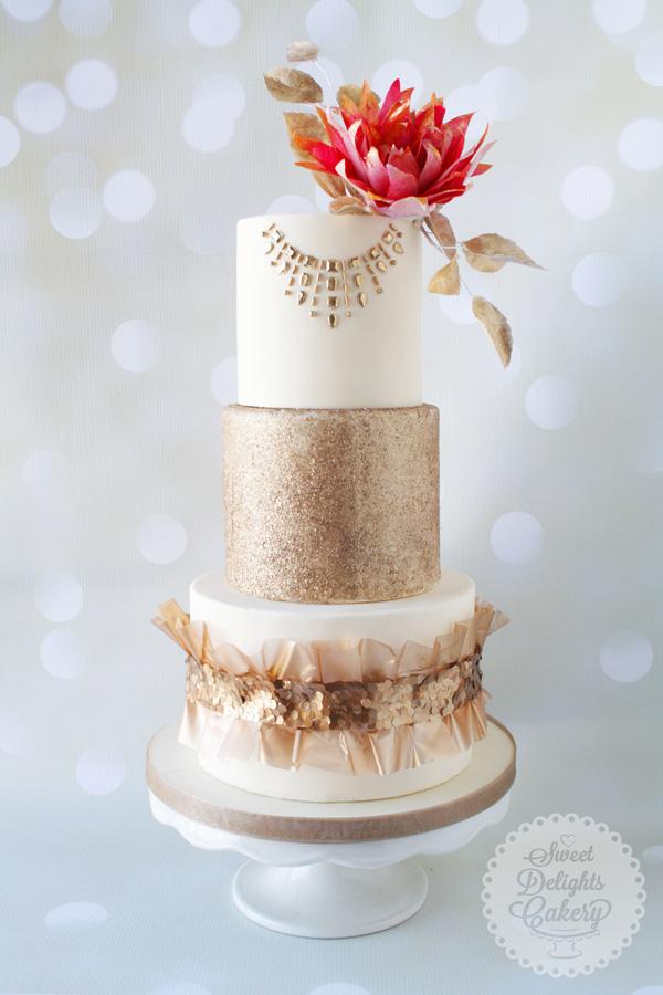 Gold Sparkle Wedding