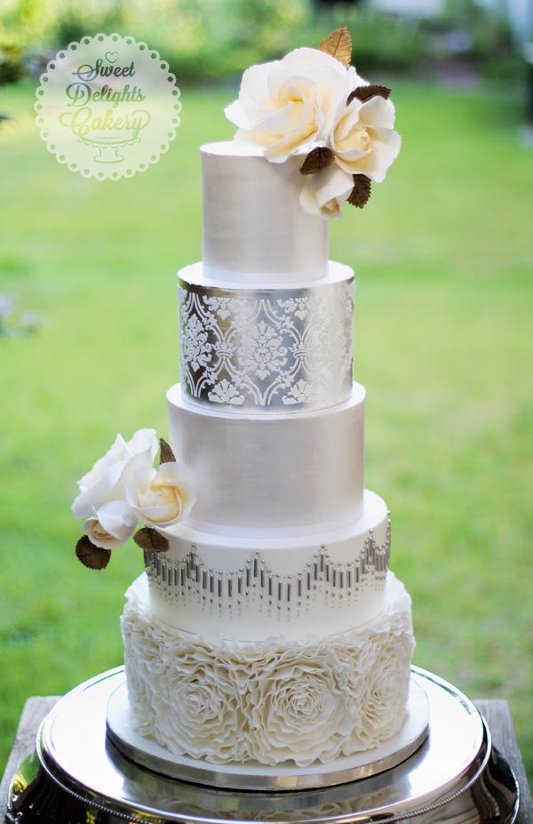 Rosettes & Silver Wedding