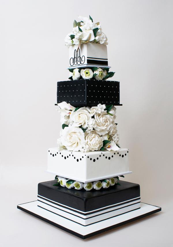 Ron BenIsrael Satin Ice - Ben Israel Wedding Cakes