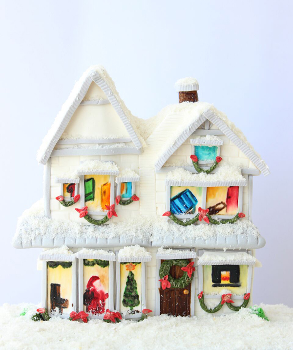 Sculpted Winter House