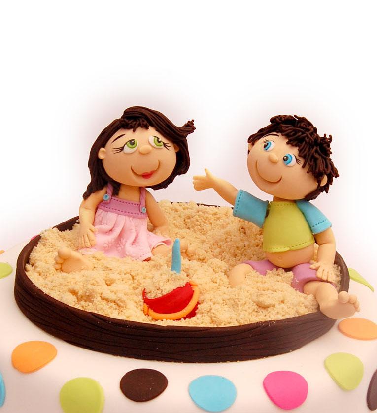 Children in Sandbox