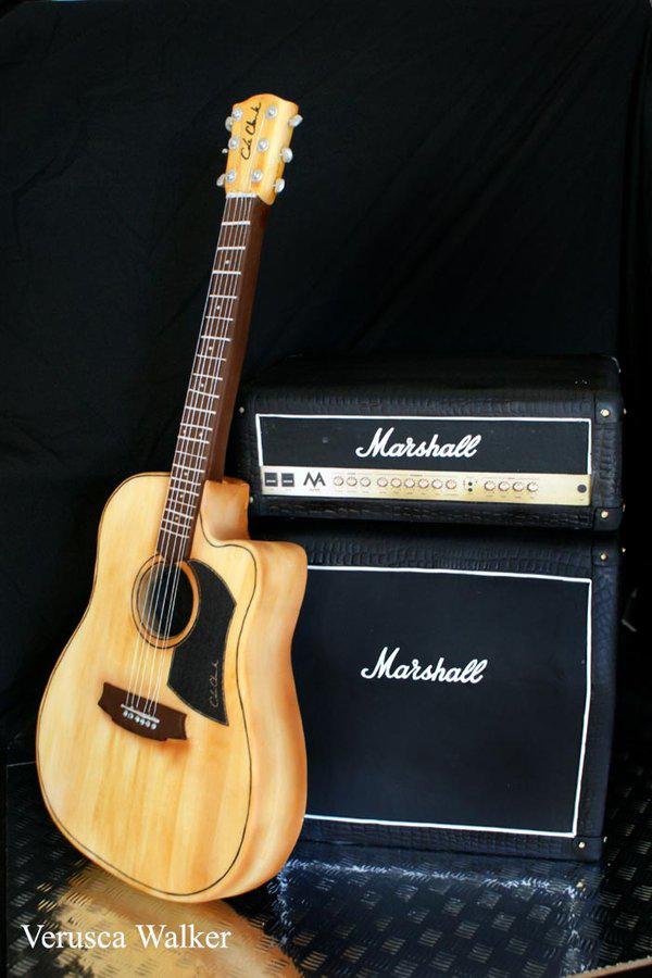 Guitar & Amp Cake