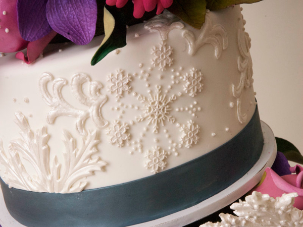 Embossed Fondant Closeup