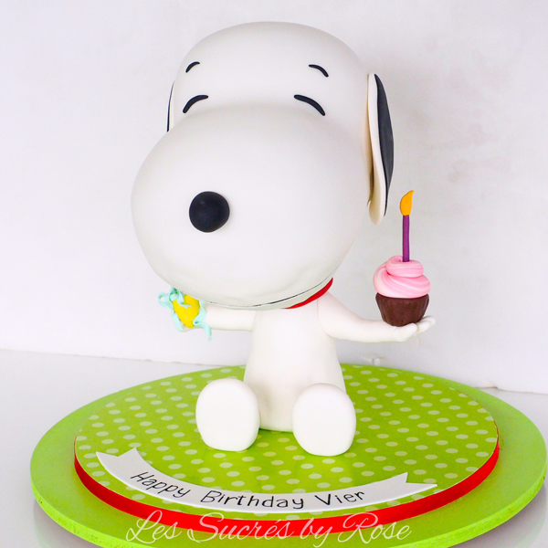 Snoopy Birthday Figure