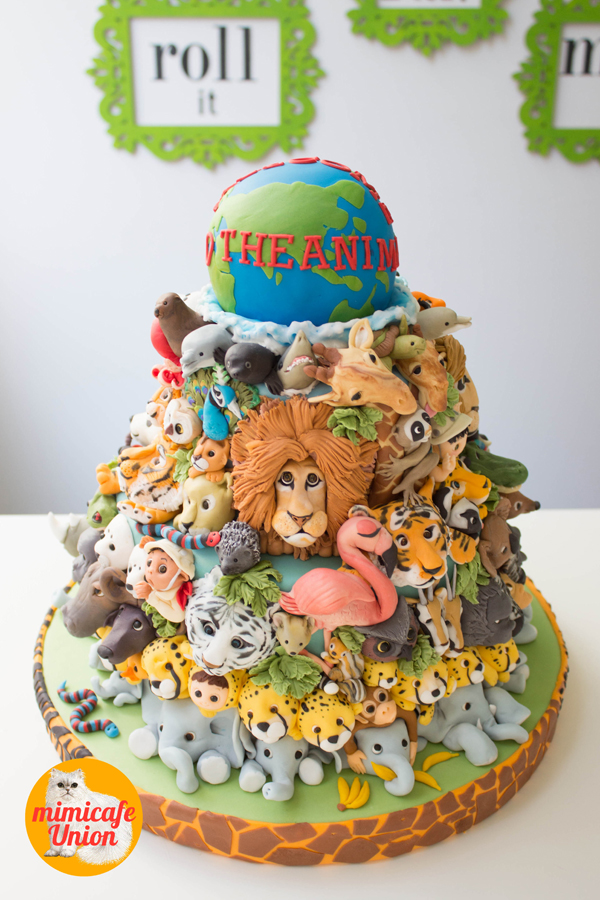 Animal Kingdom Cake