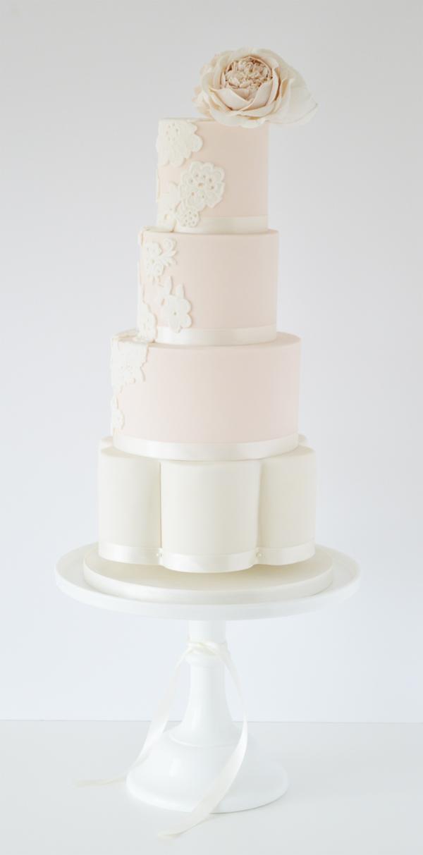 Elegant Tiered Wedding Cake