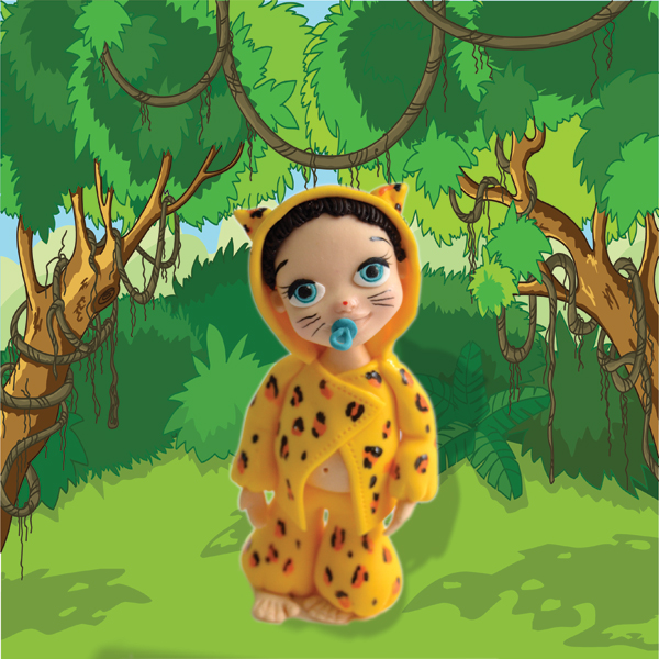 Baby Birthday Leopard Cub