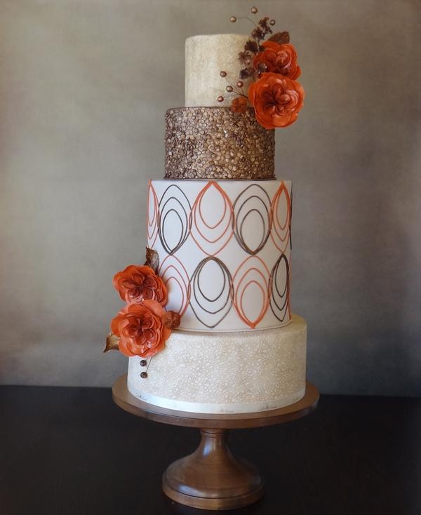 Elegant Design Wedding Cake