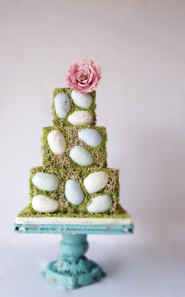 Spring Egg Celebration Cake