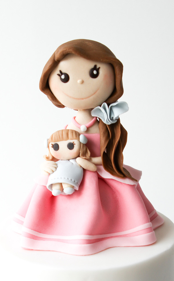 Pink Princess Figure