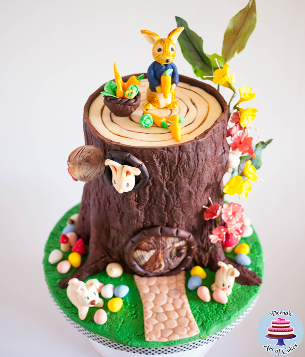 Forest Critters Cake