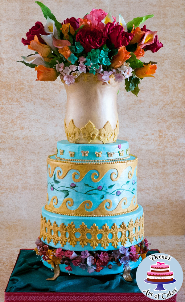 Floral Decorative Cake