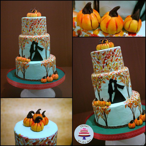 Pumpkin Kiss Cake