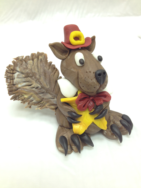 Squirrel Pilgrim