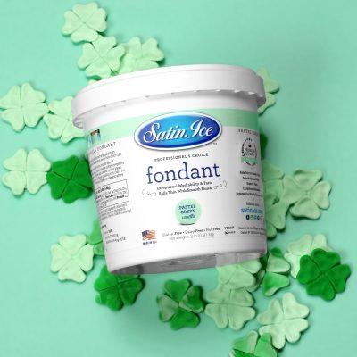 Satin Ice 2Lb Pastel Green