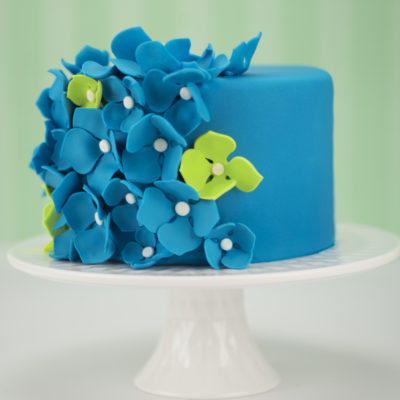 Sff Summer Photo Flower Cake