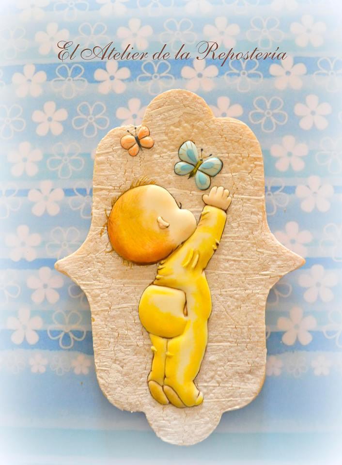 Little baby boy cookie