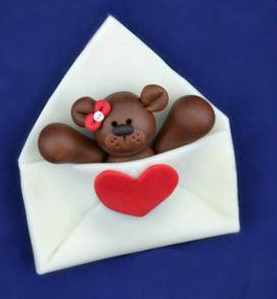 Envelope Bear