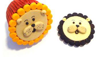Lion Cupcakes Hero